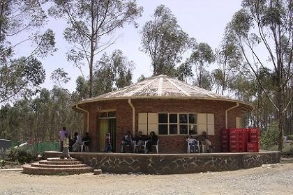 Bar & restaurant in the Asmara zoo